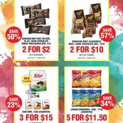[CHOCSPOT] For the month of April, you can purchase these selected items at special prices with only a minimum nett spent