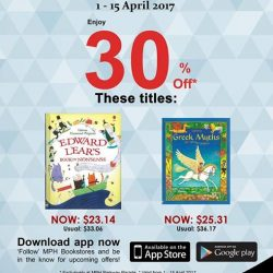 [MPH] Exclusive MPH Offer On Parkway Parade App30% off Usborne Edward Lear's Book of Nonsense & Usborne Greek Myths For