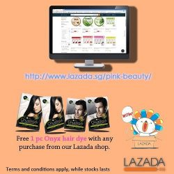 [Pink Beauty] To make your shopping more convenient, we're online Lazada!