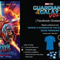 [Filmgarde Cineplex] Stand a chance to win MARVEL'S GUARDIANS OF THE GALAXY VOL.