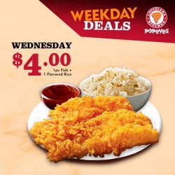 [Popeyes Louisiana Kitchen Singapore] What, it's only Wednesday?