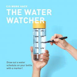 [StarHub] Stay hydrated and focused at work with the Water Watcher!