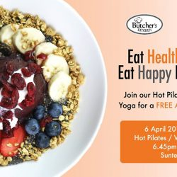 [Platinum Yoga] In conjunction with WORLD HEALTH DAY, get a FREE Acai Bowl Sampling from Butcher's Kitchen - Our special partner for