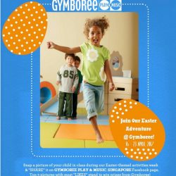 [GYMBOREE PLAY & MUSIC] Take part in face painting & Easter egg hunt this Easter Sunday, 16 April!