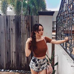 [MDSCollections] Maud Shorts in Grey   mdsootd Hashtag mdsootd to win $50 online voucher.