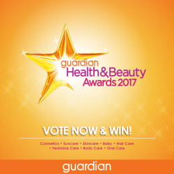 [Guardian] Guardian Health & Beauty Awards 2017 recognizes the best in the industry and it's time for you to show your