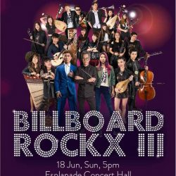[SISTIC Singapore] Tickets for Billboard Rockx III In Collaboration with Esplanade – Theatres on the Bay As part of POPs goes on sale