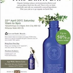 [Neal's Yard Remedies] This Earth Day's packed with a whole load of treats as you go organic with us at Neal's