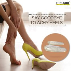 [Citrusox] Bid farewell to wearing flats and get ready to rock 'em heels!