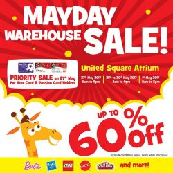 [Babies'R'Us] Click on the photo to find out more details on the MAYDAY Warehouse Sale at United Square below.