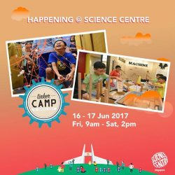 [Elements @ Play by Science Centre Singapore] Electronics, engineering and coding are some of the skills you need to become a tinkerer, and with this 2-day