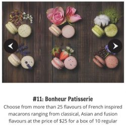 [Bonheur Patisserie] We are one of the fifteen best food deals for @voilahsg French Food Festival!