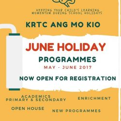 [Kent Ridge Education Hub] This June Holiday, we offer an array of rewarding Programs that will keep your child's learning momentum during their