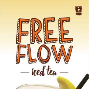 [O' Coffee Club] Enjoy FREE FLOW ICED TEA when you order an ala carte Iced Tea or a promotion that's inclusive of