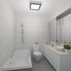 [Elegance Concept] Project location: BLOCK 359 ADMIRALTY Project designer: YUSOFF AYUB (SALES DESIGNER)Bathrooms are often the most overlooked area in the