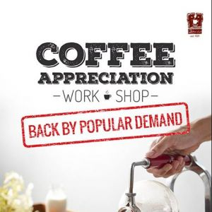 [O' Coffee Club] HIGH TEA & COFFEE APPRECIATION WORKSHOP @ O'COFFEE CLUB XPRESS RAFFLES XCHANGE $39.