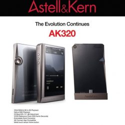 [Stereo] With every purchase of Astell&Kern AK320, you get the accompanying AK AMP FREE!