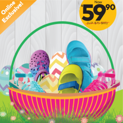 [Stride Rite/Petit Bateau] Get ready for Easter with Stride Rite ONLINE EXCLUSIVE OFFER!