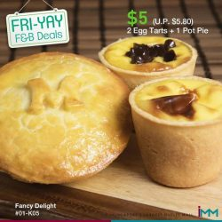 [FOOD LOVERS ONLY - FLO] Fri-Yay F&B Deals Alert!