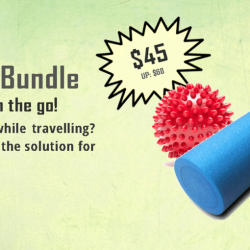 [Core Concepts - Physiotherapy Centre] It's the last week to grab your travel massage bundle!