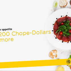 [Maybank ATM] Till 30 September 2017, earn 200 Chope-Dollars at selected buffet restaurants when you reserve via Chope​.