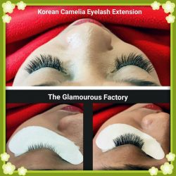 [The Glamourous Factory] Our happy customer with the Korean Camelia Eyelash Extension done by Renee!