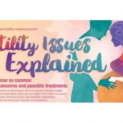 [SISTIC Singapore] Tickets for Fertility Issues Explained A health seminar on common conception concerns and possible treatments goes on sale on 29