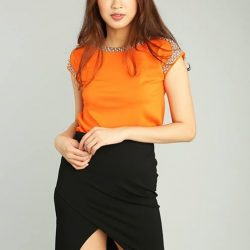 """[MOSS] Shop """"KIRSTEN TOP"""" in ours Extra 20% off* Online Sale!"""