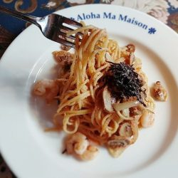 [Ma Maison Restaurant Singapore] Today's Set D Pasta Lunch at Ma Maison at Bugis Junction02-51 is Mentaiko Spaghetti Comes with Soup, Mini
