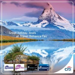 [Citibank ATM] Great Summer deals and promotions now on at Travel Bonanza Fair.