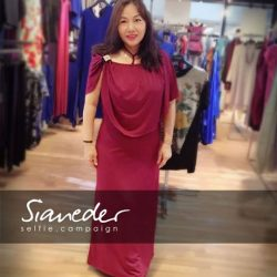 [Sianeder] Sianeder Selfie Campaign (April 2017) 📷❤️❤️ Sianeder PremiumFabric Comfy DesignerCollections FlatteringClothes WomenBestFriend ConceptualFashion SHOP NOW | Bedok Mall B1-62 | Nex 02-