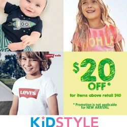 [KidStyleSg] Here's a cute little Easter Weekend promo from Kidstyle ❤