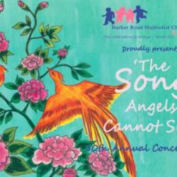 [SISTIC Singapore] Tickets for BRMCK 50TH ANNUAL CONCERT 2017 - 'THE SONG ANGELS CANNOT SING' goes on sale on 17 April 2017.
