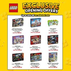 [Bricks World (LEGO Exclusive)] Exclusive Deals available at the Grand Opening of our LEGO Certified Store @Plaza Singapura.