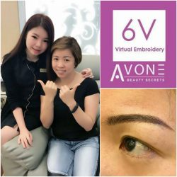 [AVONE BEAUTY SECRETS] Double thumbs up for our Leading Embroidery Specialist JC Lim from our Waterway Punggol  (Tel.