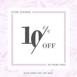[Orchard Central] To celebrate its opening at Orchard Central and in conjunction with Mother's Day, Pantheon is offering a 10% off