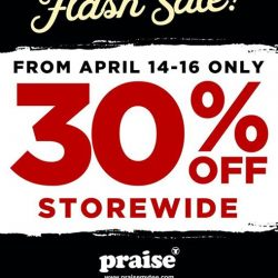 [Praise] Get ready for our Flash Sale!