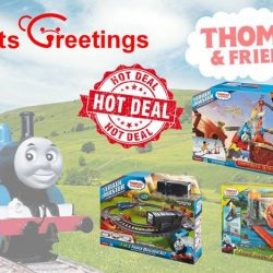 [Gifts Greetings] Head on down to either Great World City, Serangoon Nex or JEM outlet to purchase your favorite Thomas and Friends