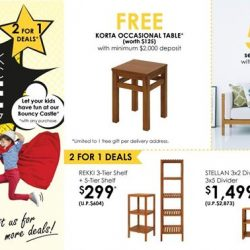 [The Star Vista] Join Scanteak for not one but TWO weekends of excitement at the Scanteak Funtastic Sale @ The Star Vista!