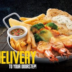 [The Manhattan FISH MARKET Singapore] Enjoy your favorite Small Flame and more today with FREE DELIVERY!