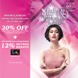 [Metro] Double the celebration from 20-23 Apr!