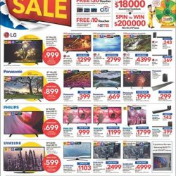 [Courts] COURTS BIG TV SALE is here!