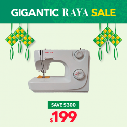 [Courts] Only at GIGANTIC RAYA SALE will you get THOUSANDS of GIGANTIC deals with discounts of up to 85%!