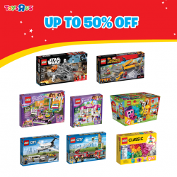 "[LEGO] Celebrate the grand opening of two Toys""R""Us Singapore stores with LEGO toys!"