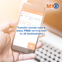 [M1] Introducing the new M1 Remit – you can now securely transfer money to Bangladesh, Philippines, Indonesia, India, Myanmar, Malaysia and more.
