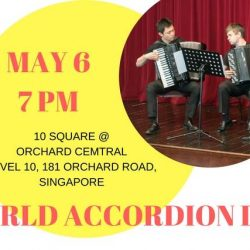 [SISTIC Singapore] Tickets for World Accordion Day goes on sale on 10 April 2017.
