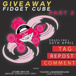 [THE LITTLE BADGE STORE] April'17 giveaway is back!