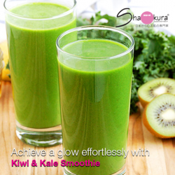 [Shakura Pigmentation Beauty] Rich in Vitamin A, this green juice helps promote cell growth and healthy turnover.