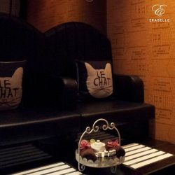 [Erabelle] Sit back and relax at cosy foot bath area in Erabelle Seletar Mall.