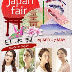 [Optique Paris-Miki] Look out for Paris Miki 'Japan Fair' at LIANG COURT from 29 Apr till 7 May 2017!